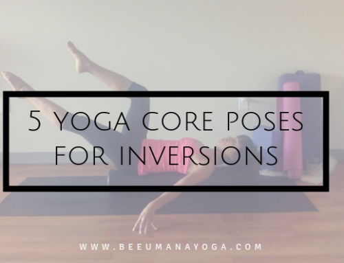 5 Yoga Poses for Inversions