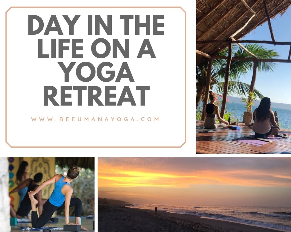 day in the life on a yoga retreat
